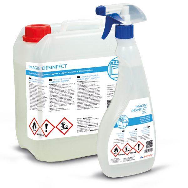 Dezinfekcia na plochy, povrchy a ruky
