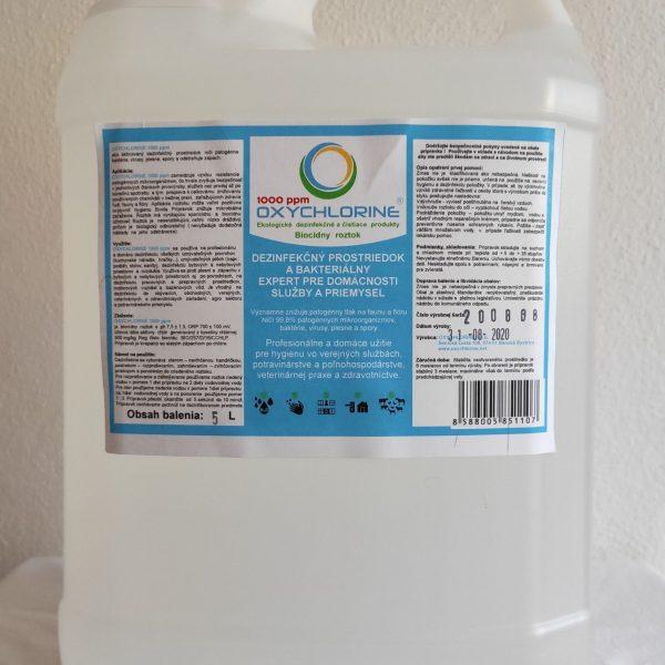 OXYCHLORINE 1000 ppm